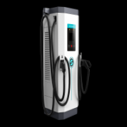 DC fast charging station used in federal and state institutions